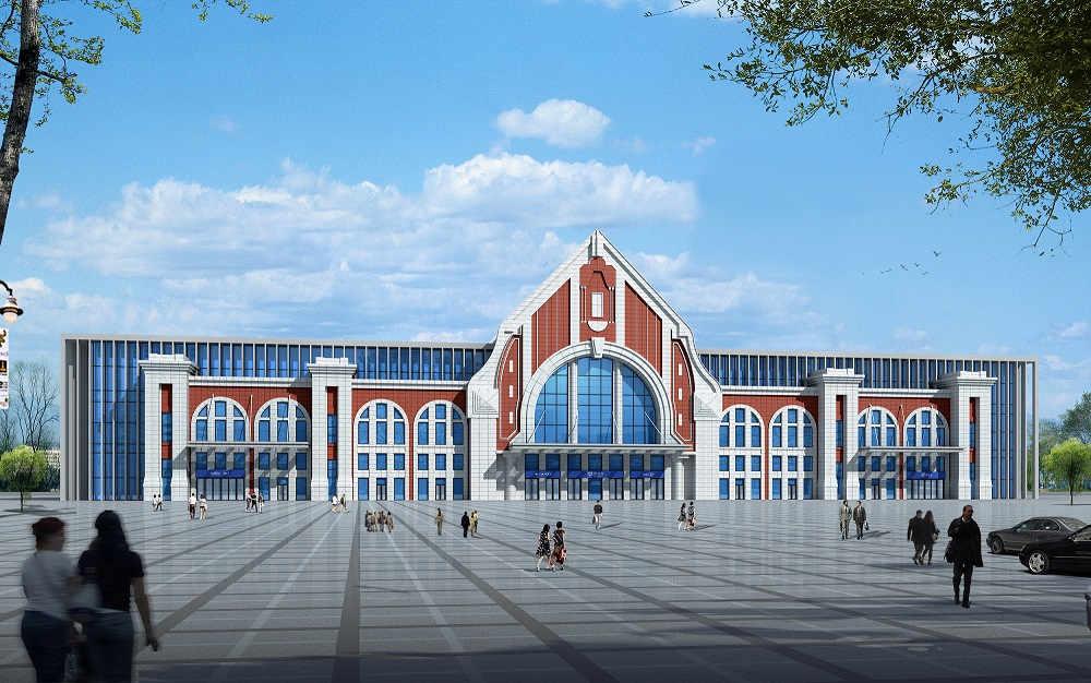 胶州北站站房工程